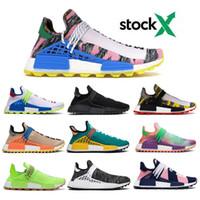 Wholesale xr1 nmd resale online - 2020 NMD Human Race Pharrell Williams Men Women Running Shoes Black White Grey Nmds Primeknit PK Runner XR1 R1 R2 Sneakers