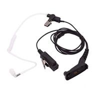 autoradio walkie talkie großhandel-Fbi Luftschallschlauch Hörmuschel PMIC-Kopfhörer für Motorola Xir P8668 P8268 Apx 7000 Xpr 6500 Xpr 6550 Walkie Talkie-Autoradio