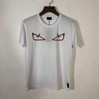 camisas talla xl al por mayor-19SS Diseñador para hombre Camisetas Múltiples impresiones de ojos intercambiables Algodón de gran tamaño Tendencia de moda Estilo transpirable Camisetas