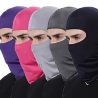 Wholesale skull full face ski mask for sale - Windproof Cycling Face Masks Full Face Hat Winter Warmer Balaclavas Bike Sport Scarf Mask Outdoor Hats Party Hats CCA10826