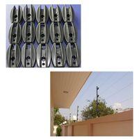 Wholesale electronic insulators resale online - 100PCS Plastic Fencing Insulators Electronic Fence Terminal Rod Insulator Electric Fence Accessories