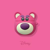 headset für iphone rosa großhandel-2019 neue niedliche Cartoon Bär Airpods1 / 2 Generation Schutzhülle Apple Wireless Bluetooth Headset Softshell Pink