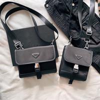 Wholesale male clutches resale online - 2020 Hot sale handbags Original nylon women handbags p composite bags lady clutch shoulder tote male Mobile phone bag