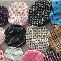 müslüman kafa eşarpları toptan satış-Sıcak Tasarımcı Durag Müslüman Kadınlar Streç Uyku Türban Şapka Eşarp Ipeksi Bonnet Kemo Kasketleri Kapaklar Kanser Şapkalar Başkanı Wrap Saç aksesuarları
