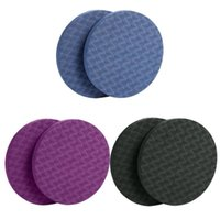 Wholesale elbow cushion resale online - Protable Home Yoga Knee Pad Cushion Extra Thick for Knees Elbows Wrist Hands Head Foam Pilates Kneeling Mat Sports Fit