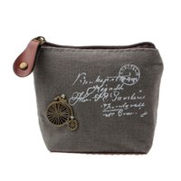 монеты эйфелевой башни оптовых-2015 Hot Sale Retro Women Girl Coin Bag Purse Wallet Card Case Gift Eiffel Tower Women Bags Femmes Sacs Free Shipping