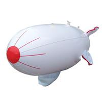 sıcak oyuncaklar pvc toptan satış-Şişme Zeplin Modeli Sup Su Uçak Oyuncak Çocuk Uçak PVC Boş Top Beyaz Eko Dostu Sıcak Satış 30sl C1