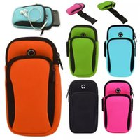 Wholesale waterproof arm phone bags resale online - Waterproof Sports Running Case Armband Running bag Workout Armband Holder Pounch For iphone Cell Mobile Phone Arm Bag Band