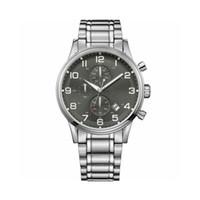 Wholesale ceramic watch black quartz for sale - Group buy New Quartz Watches Men s Watch Six Needles Chronography Grey Dial Steel Fashion Mens Watches