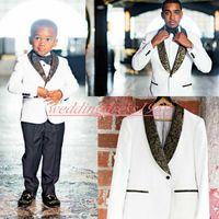 Wholesale wool tweed pants resale online - Hot Selling Business Men Suits Two Pieces Groom Tuxedos Best Man Groomsmen Suits Bridegroom Formal Suit Wedding Tuxedos Suits Jacket Pants