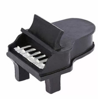Wholesale place cards holders for sale - Group buy Black piano place card holders Music theme favor quot Ain t Love Grand quot wedding in event party supplies DHL