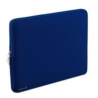 ultrabook dizüstü bilgisayar çantası toptan satış-Taşınabilir Fermuar Yumuşak Kollu Çanta Kılıf MacBook Hava Ultrabook Laptop Notebook 11-inch 11