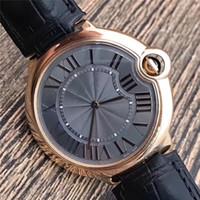 ingrosso orologio in oro rosa grigio-Top Quality W6920089 Orologio meccanico quadrante grigio meccanico da uomo in acciaio inossidabile con cassa in acciaio inossidabile 40 mm