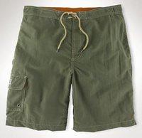 ingrosso pantaloni dell'esercito dei ragazzi-2019 Uomini Solid Casual Shorts Piccolo Pony Pocket Cotton Boys Beach Short Pants Board Swimwear Quick Dry Fashion Trunk Army Green