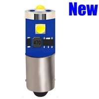 cree wedge bulb toptan satış-100pcs T11 BA9s T4W Süper Parlak Cree Chip LED Araç Park Işıklar Kaynak Canbus Hatasız Oto Kubbe Lambalar Kama Kuyruk Yan Ampüller