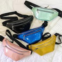 plaj şekerleri toptan satış-Şeker Renk Bel çantası Kadın Fanny Paketi Rahat Açık Bel Çanta Kılıfı Paketleri Kalça Çanta parti plaj Omuz Crossbody Çanta FFA2114