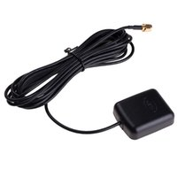 aktives antennenauto großhandel-3 Mt Auto GPS Antenne GPS empfänger Auto DVD Navigationsverstärker Nachtsicht Kamera Aktive Fernantenne Antenne Adapter Stecker
