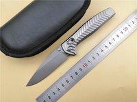 cuchillos de caza de acero d2 al por mayor-BM Edición limitada AXIS 781 D2 Acero Mango de aluminio Cuchillo plegable Camping bolsillo Supervivencia Caza Cuchillo de cocina Herramienta EDC