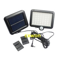 Wholesale human solar lamp for sale - Group buy New Solar Light Indoor Leds Waterproof Human Motion Sensor Solar Light Home Super Bright For Garden Path Outdoor Wall Lamp