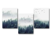 Wholesale paintings resale online - Nordic Decoration Forest Lanscape Wall Art Canvas Poster and Print Canvas Painting Decorative Picture for Living Room Home Decor