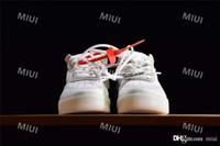 ingrosso una scarpa-Vendita all'ingrosso 10X Forces Low Airs Cushion 1 One Scarpe da corsa per uomo Le scarpe Pure White Sports Trainer Women Designer US5.5-11