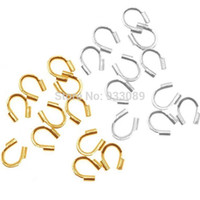 Wholesale-metal Wire Guard Guardian Protectors loops Jewelry findings  58-423 500pcs free shipping