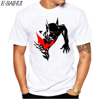 Wholesale punk clothing styles for sale - Group buy E BAIHUI New Summer Men Cotton Clothing Gothic shirts Punk Tee Vintage Rock T shirts Casual Anime Male Styles Tops Tees T