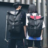 Wholesale saddle color resale online - Harajuku Oxford Bookbag Backpacks Teenager Large Capacity School Bags Women College Students Solid Color Girls Travel Bag