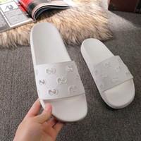 ingrosso gatto di gomma-2019 nuovi sandali firmati Cat Tiger ape stampa Morbida pelle uomo in gomma da donna sandalo pantofola taglia 34-45 con scatola