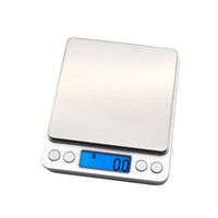 Wholesale portable weigh scales for sale - Group buy 2019 new LCD portable mini electronic digital scale pocket box post kitchen jewelry home weighing scale