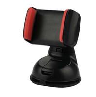 nuevos teléfonos inteligentes al por mayor-100% nuevo a estrenar Soporte de soporte de soporte de cuna de ventilación de aire negro para teléfono móvil inteligente GPS con agarre de espuma