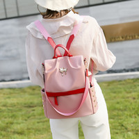 Wholesale bag for women stylish for sale - Group buy OCARDIAN Backpack Women Big Capacity Simple Stylish Oxford Waterproof Travel Leisure For Teenage Backpack a26