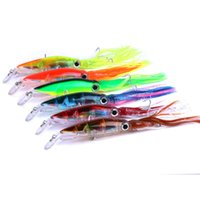 Wholesale squid minnow lures for sale - New Arrival Sleeve Fish Fishing Tackle cm g octopus Squid Lure Hard Plastic Fishing Lure Trolling Bionic isca Artificial Minnow BAIT DHL