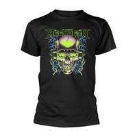 crâne casque achat en gros de-Megadeth '35 Years Headphones Skull 'T-shirt - NOUVEAU T-shirt Homme Femme Unisexe Livraison gratuite black