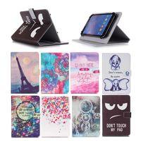 ingrosso t2 compressa-Custodia per tablet universale da 10 pollici stampata per Huawei MediaPad M2 10.0 T2 10.0 Pro Casi cavalletto in pelle