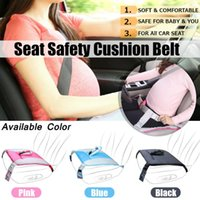 Wholesale skid mats resale online - Car Seat Safety Belt For Pregnant Woman Girls Lady With Soft Seat Mat Shoulder Cushion Protection Safety Anti skidding
