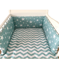 Wholesale pink cot beds for sale - Group buy Crib Bumper Around Cot Baby bed Nursery Sets for Infant Cradle Cartoon Boy Girl Bedding Long x30cm roupa infantil