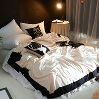 venda macia cobertor venda por atacado-O mais recente Hot Sale fibra de poliéster Tecido Branco Lace Blanket Moda Home Textile Products simples e confortável cobertor macio
