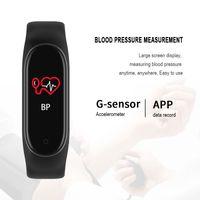 Wholesale 2019 M4 Smart band Fitness Tracker Watch Sport bracelet Heart Rate Blood Pressure Smartband Monitor Health Wristband PK mi band ePacke