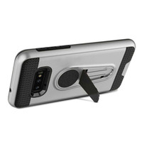 кронштейны для пк оптовых-Для Samsung S9 S10 Plus Note 9 A9 Note 8 King Броня Автомобиля Магнитный Кронштейн Сотовый Телефон Case Pc Tpu Hard Phone Cases