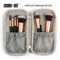 Wholesale fold up makeup case for sale - Group buy Portable Cosmetic Makeup Brushes Bag Marble Case Make up Organizer Women Beauty Travel Multifunction Makeup Brush Bags Storage Bag