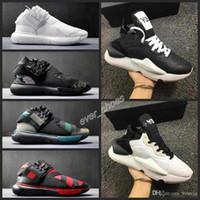 zapatos y3 al por mayor-Nuevo Y3 Kaiwa Chunky y-3 Sneakers Diseñadores Sports Runner Shoes hombres scarpe da uomo Zapatos Trainers Sports Mid Boots Chaussures 39-45