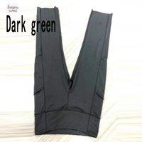 blaue schwarze schwarze leggings großhandel-Drucken Leggings Stretch Waist Hose Bleistift-dünne Hosen Capris Hohe Schwarz Blau Grün Weinrot Capris