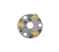 ingrosso 3w luce rossa del branello principale-PCB 10X Super bright LED in alluminio con LED 3W base rotonda in alluminio pcb con led spedizione gratuita