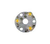 ingrosso pcb a base di alluminio-PCB 10X Super bright LED in alluminio con LED 3W base rotonda in alluminio pcb con led spedizione gratuita
