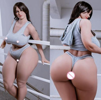 Wholesale anal ass doll resale online - 157 plump sexy chubby big breast fat ass sex doll full body real silicone sex dolls for man realistic oral anal love doll adult sex toys
