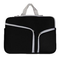 Wholesale handbag for macbook for sale - Group buy Slim Laptop Protective Case Zipper Bag Sleeve Pouch Handbag For Macbook Air Pro Retina inch Storage Bag Travelling Bags Durable