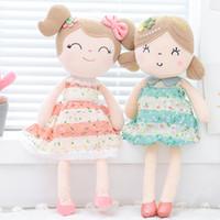 bonecas de pano venda por atacado-Primavera Bonecas Menina Bonecas Presentes Bonecas de Pano Crianças Boneca de Pano De Pelúcia Brinquedos de Presente de Natal Kawaii