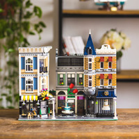 Wholesale square blocks toy for sale - Group buy 15019 MOC Creator City Street The Assembly Square Set Building Block Bricks Toys Compatible with