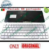 laptop hp pavilhão venda por atacado-Novo teclado Notebook Laptop para HP Pavilion dv4-1000 dv4 -1500 -1600 DV4-1413TX dv4t dv4-2000 Prata Versão PO Português - V071802CK1 PO
